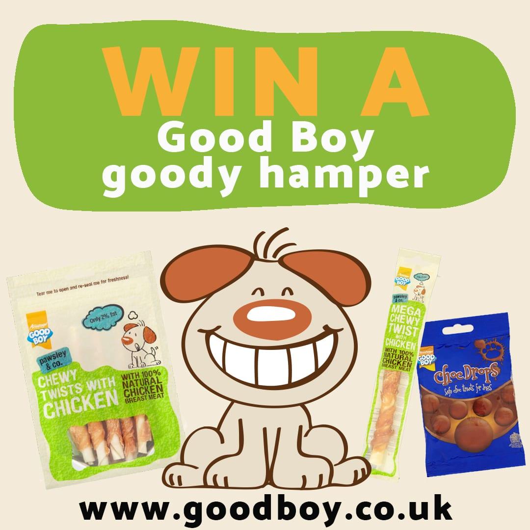 WIN a Good Boy goody hamper